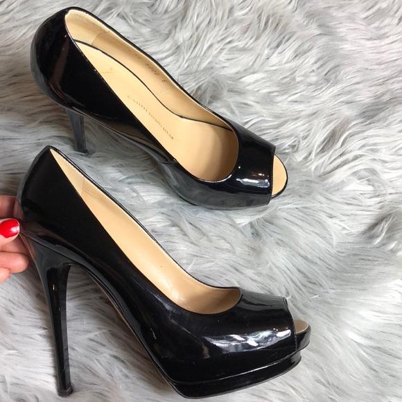 ed24cdb7f88 Giuseppe Zanotti Shoes - Giuseppe Zanotti Black patent leather Pump